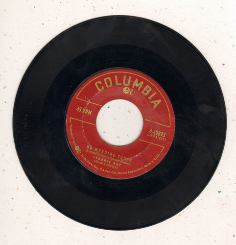 Ray, Johnnie - No Wedding Today/Yes Tonight, Josephine  - VG7/ - 45 rpm Records