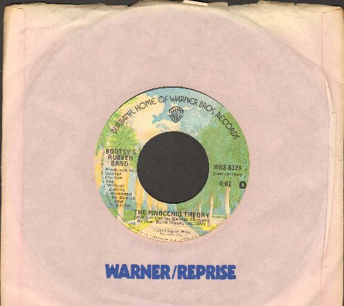 Bootsy's Rubber Duckie - The Pinochio Theory/Rubber Duckie (with Warner Brothers company sleeve) - NM9/ - 45 rpm Records