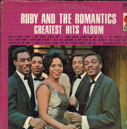 Ruby & The Romantics - Greatest Hits: Our Day Will Come, How Deep Is The Ocean, Our Everlasting Love, When You're Young And In Love, My Summer Love (vinyl STEREO LP record, MINT condition vinyl!) - EX8/VG7 - LP Records
