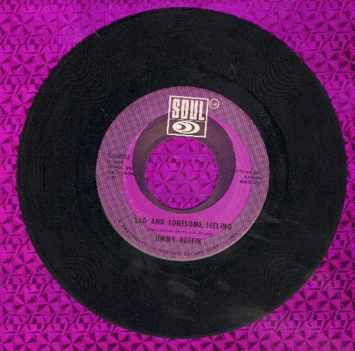 Ruffin, Jimmy - Sad And Lonesome Feeling/Gonna Keep On Tryin' Till I Win Your Love - NM9/ - 45 rpm Records