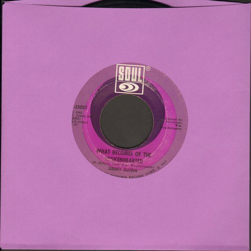 Ruffin, Jimmy - What Becomes Of The Brokenhearted/Baby I've Got It - VG7/ - 45 rpm Records