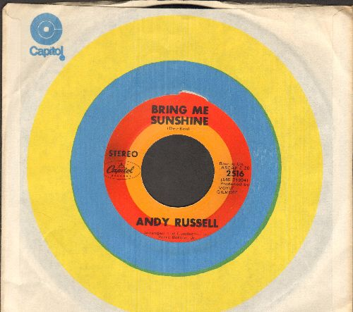 Russell, Andy - Bring Me Sunshine/Julie (with Capitol company sleeve) - EX8/ - 45 rpm Records