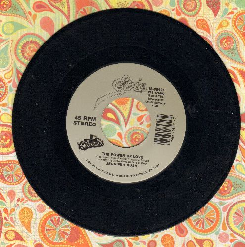 Rush, Jennifer - The Power Of Love/Flames Of Paradise (Duet with Elton John) (re-issue) - M10/ - 45 rpm Records