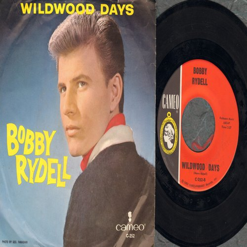 Rydell, Bobby - Wildwood Days/Will You Be My Baby (with picture sleeve) - NM9/EX8 - 45 rpm Records