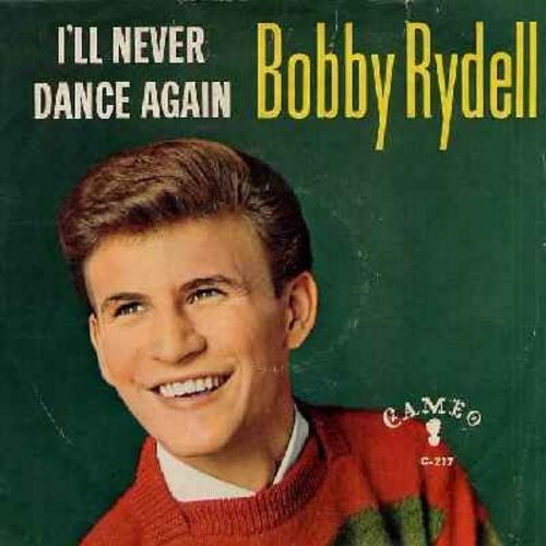 Rydell, Bobby - I'll Never Dance Again/Gee, It's Wonderful (with picture sleeve) - NM9/VG7 - 45 rpm Records