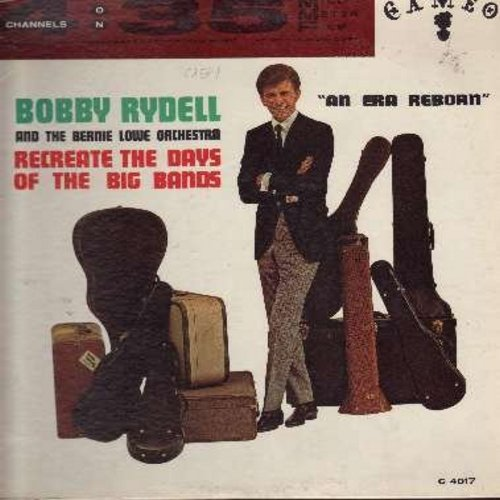 Rydell, Bobby - An Era Reborn - Recreating the days of the Big Bands: Al Di La, Maria, Stranger On The Shore, Moon River, Tonight, Sealed With A Kiss (vinyl LP record, RARE 4 Channel recording on 35mm Film) - NM9/VG7 - LP Records
