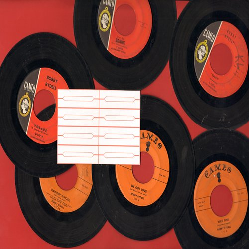Rydell, Bobby - 6-Pack of Original 45s includes hits We Got Love, Wild One, Swingin' School, Sway, Volare, (I've Got) Bonnie. GREAT for a juke box! - VG7/ - 45 rpm Records