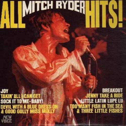 All Mitch Ryder Hits: Sock It To-me!, Jenny Take A Ride, Too Many Fishes In The - Ryder, Mitch
