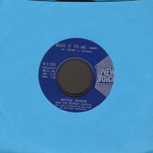 Ryder, Mitch & The Detroit Wheels - Sock It To Me - Baby!/I Never Had It Better - EX8/ - 45 rpm Records