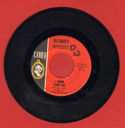 Rydell, Bobby - I Wanna Thank You/The Door To Paradise (wol) - VG6/ - 45 rpm Records