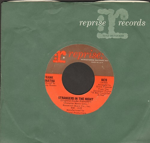 Sinatra, Frank - Strangers In The Night/Oh, You Crazy Moon (with vintage Reprise company sleeve) - NM9/ - 45 rpm Records