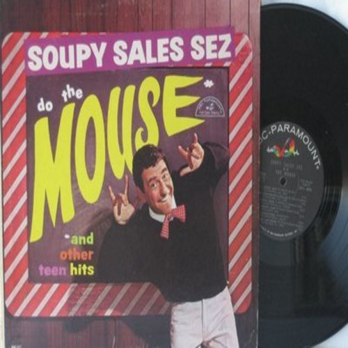 Sales, Soupy - Soupy Sales Sez Do The Mouse & Other Teen Hits: The Name Game, Speedy Gonzales, The Nitty Gritty, King Kong, Mouse Trap, You Brains'll Fall Out (vinyl MONO LP record) - NM9/EX8 - LP Records