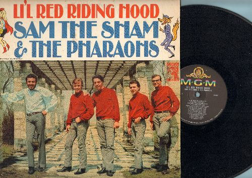 Sam The Sham & The Pharaohs - Lil' Red Riding Hood: Hanky Panky, Mary Is My Little Lamb, Little Miss Muffet, Pharaoh-A-Go Go (vinyl MONO LP record) - EX8/VG7 - 45 rpm Records