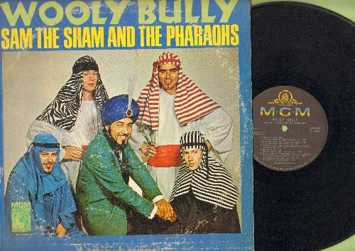 Sam The Sham & The Pharaohs - Wooly Bully: The Memphis Beat, Go-Go Girlie, Shotgun, Long Tall Sally (vinyl MONO LP record) - VG6/G5 - LP Records
