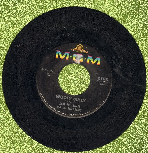 Sam The Sham & The Pharaohs - Wooly Bully/Ain't Gonna Move - EX8/ - 45 rpm Records