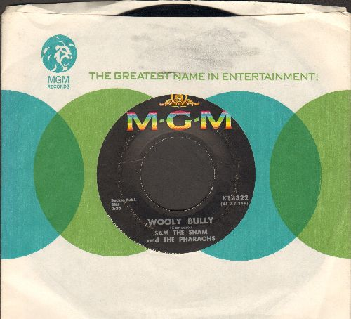 Sam The Sham & The Pharaohs - Wooly Bully/Ain't Gonna Move (with MGM company sleeve) - EX8/ - 45 rpm Records