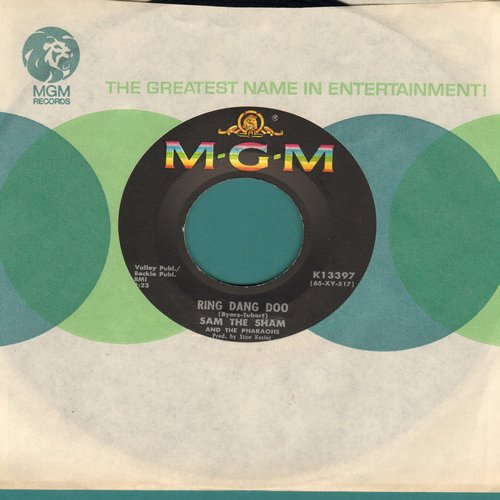Sam The Sham & The Pharaohs - Ring Dang Doo/Don't Try It (with MGM company sleeve) - EX8/ - 45 rpm Records