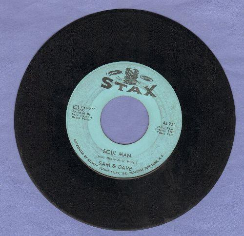 Sam & Dave - Soul Man/May I Baby  - VG6/ - 45 rpm Records