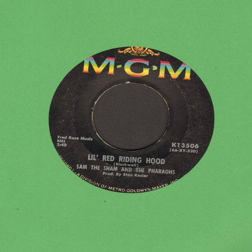 Sam The Sham & The Pharaohs - Lil' Red Riding Hood/Love Me Like Before  - G5/ - 45 rpm Records