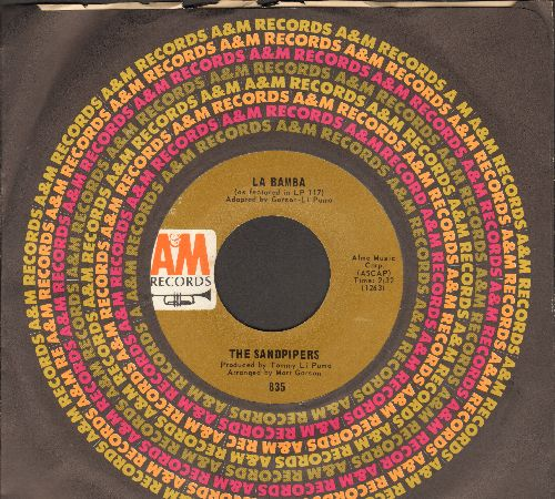 Sandpipers - La Bamba/For Baby (with vintage A&M company sleeve) - NM9/ - 45 rpm Records