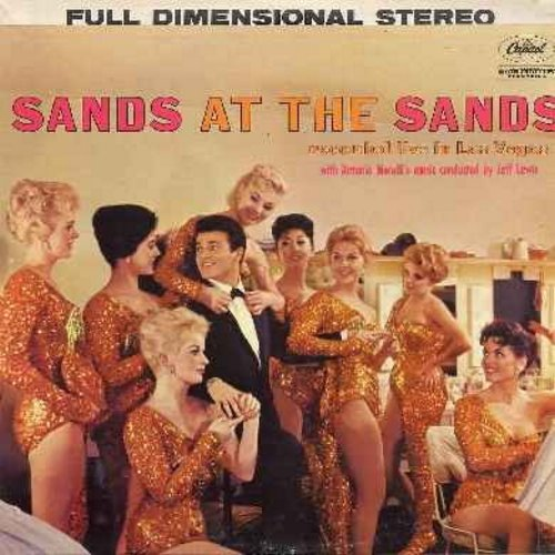 Sands, Tommy - Sands At The Sands: This Could Be The Start Of Something, In The Still Of The Night (Night And Day), I Wanna Be Bad, I Got Pleny O' Nuttin', Get Happy, Everything's Coming Up Roses, Unchained Melody (vinyl STEREO LP record) - NM9/VG7 - LP R