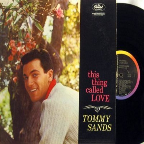 Sands, Tommy - This Thing Called Love: I Only Have Eyes For You, My Happiness, All I Do Is Dream Of You, I'm Confessin', That Old Feeling (vinyl MONO LP record) - NM9/VG7 - LP Records