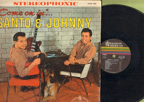 Santo & Johnny - Come On In: Mack The Knife, Spanish Harlem, Theme From A Summer Place, Brazil, Misty (vinyl LP record, RARE STEREO pressing) - NM9/VG7 - LP Records