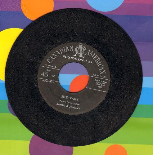 Santo & Johnny - Sleep Walk/All Night Diner - G5/ - 45 rpm Records