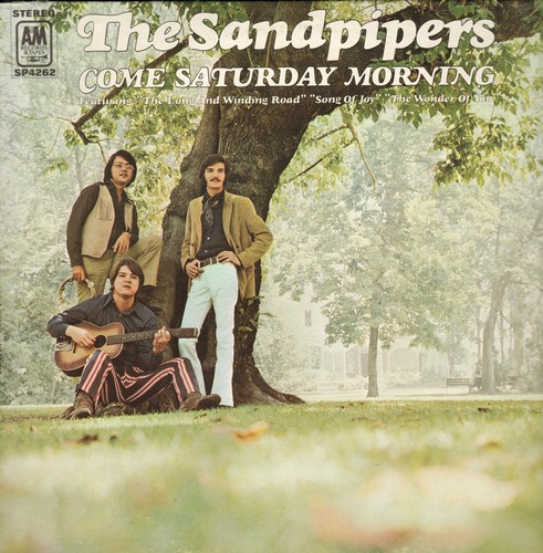 Sandpipers - Come Saturday Morning: Santo Domingo, Ther Long And Winding Road, A Song Of Joy, The Wonder Of You (vinyl STEREO LP record) - EX8/EX8 - LP Records