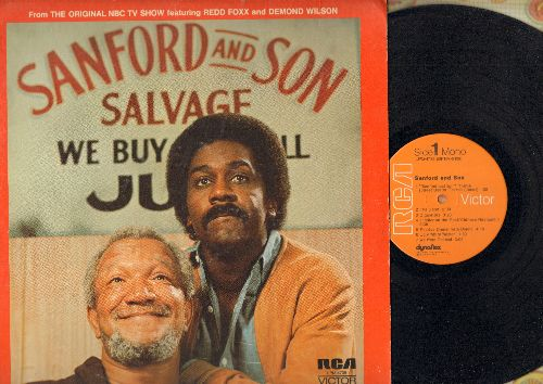 Foxx, Redd - Sanford & Son - From the Original NBC TV Show featuring Redd Foxx and Demond Wilson (vinyl MONO LP record) - EX8/VG7 - LP Records