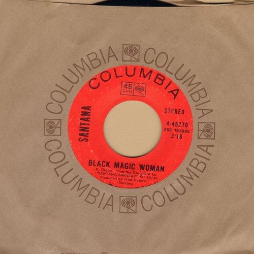 Santana - Black Magic Woman/Hope You're Feeling Better (with Columbia company sleeve) - VG7/ - 45 rpm Records