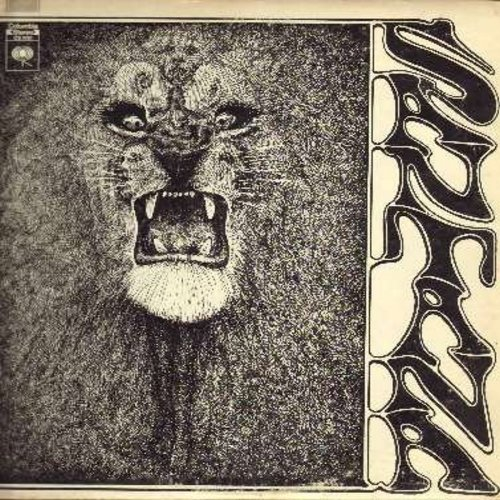 Santana - Santana: Waiting, Evil Ways, Shades Of Time, Persusion, Soul Sacrifice, Jingo (vinyl STEREO LP record) - VG7/VG7 - LP Records