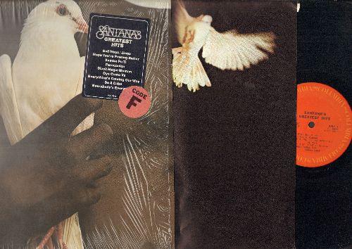 Santana - Greatest Hits: Evil Ways, Samba Pa Ti, Black Magic Woman, Jingo, Persuasion (vinyl STEREO LP record, with original inner sleeve/shrink wrap) - NM9/NM9 - LP Records