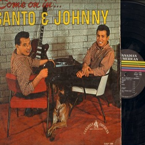 Santo & Johnny - Come On In: Mack The Knife, Spanish Harlem, Theme From A Summer Place, Brazil, Misty (vinyl MONO LP record) - VG7/G5 - LP Records