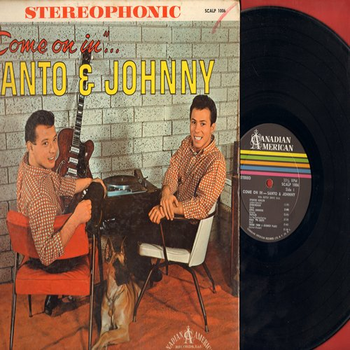 Santo & Johnny - Come On In: Mack The Knife, Spanish Harlem, Theme From A Summer Place, Brazil, Misty (vinyl LP record, RARE STEREO pressing) - VG6/VG7 - LP Records