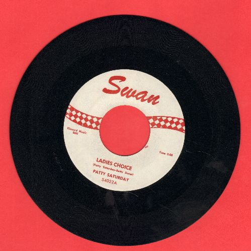 Saturday, Patty - Ladies Choice/Love Is A Wonderful Thing - NM9/ - 45 rpm Records