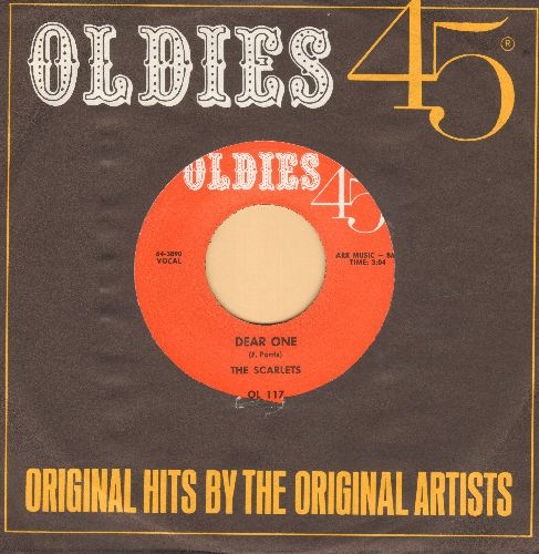 Scarlets - Dear One/Take Out Some Insurance (by Jimmy Reed on flip-side) (MINT condition re-issue with Oldies45 company saleeve) - M10/ - 45 rpm Records