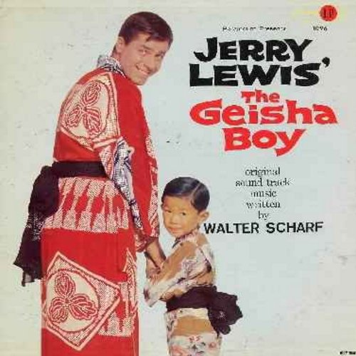 Scharf, Walter - The Geisha Boy - Original Motion Picture Sound Track, Music written by Walter Scharf (vinyl MONO LP record, DJ advance copy) - M10/EX8 - LP Records