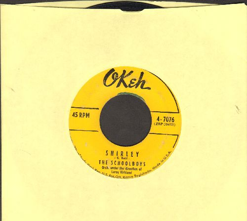 Schoolboys - Shirley/Please Say You Love Me  - VG7/ - 45 rpm Records
