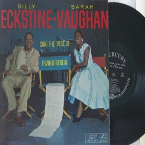 Eckstine, Billy & Sarah Vaughan - Sing The Best If Irving Berlin: Cheek To Cheek, Always, The Girl That I Marry, Easter Parade, Alexander's Ragtime Band (vinyl MONO LP record) - NM9/EX8 - LP Records
