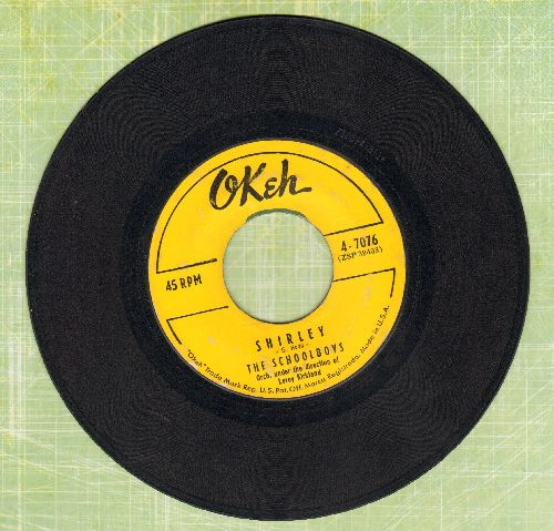 Schoolboys - Shirley/Please Say You Want Me (yellow label) - VG7/ - 45 rpm Records
