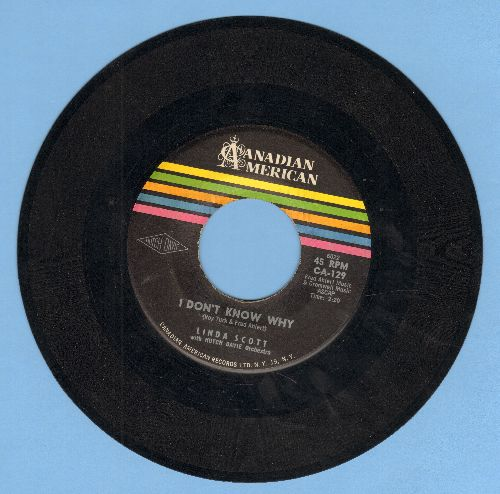 Scott, Linda - It's All Because/I Don't Know Why (sol) - EX8/ - 45 rpm Records
