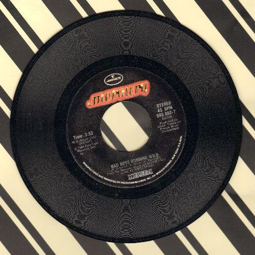 Scorpions - Bad Boys Running Wild/Still Loving You - NM9/ - 45 rpm Records