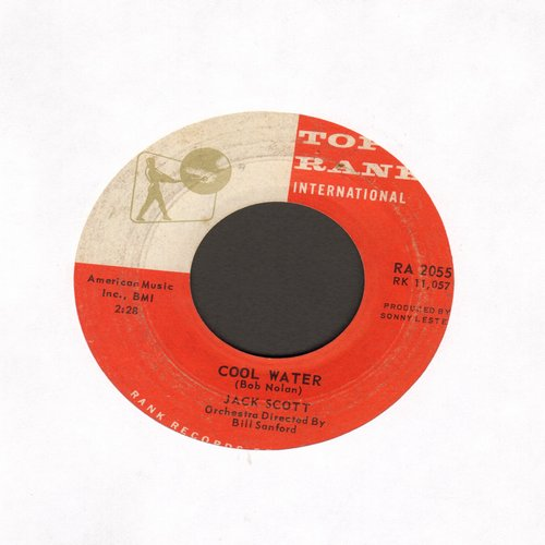 Scott, Jack - It Only Happened Yesterday/Cool Water - VG7/ - 45 rpm Records