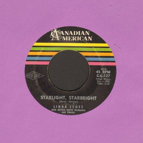 Scott, Linda - Starlight, Starbright (FANTASTIC 50s GIRL-SOUD!)/Don't Bet Money Honey - VG7/ - 45 rpm Records