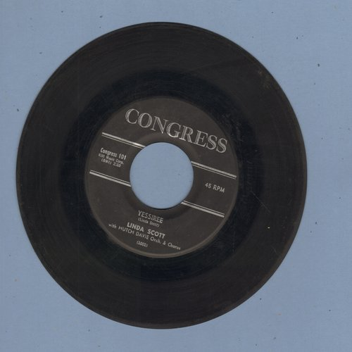 Scott, Linda - Yessiree/Town Crier  - VG7/ - 45 rpm Records