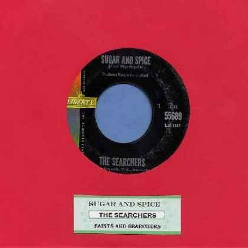 Searchers - Sugar And Spice (And All Things Nice)/Saints And Searchers (with juke box label) - VG7/ - 45 rpm Records