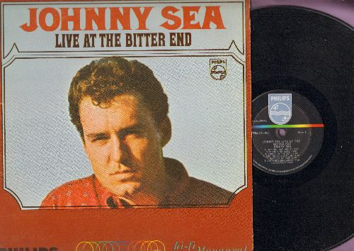 Sea, Johnny - Live At The Bitter End: It Ain't Me Babe, Riders In The Sky, It's A Shame, Johnny I Hardly Knew You, Corina Corina (vinyl MONO LP record) - NM9/EX8 - LP Records