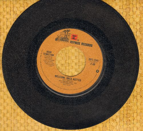 Sebastian, John - Welcome Back Kotter/Warm Baby - VG7/ - 45 rpm Records