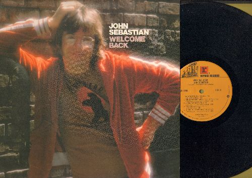 Sebastian, John - Welcome Back: Hideaway, One Step Forward One Step Back, A Song A Day In Nashville, Let This Be Our Time To Get Along (vinyl STEREO LP record) - NM9/NM9 - LP Records